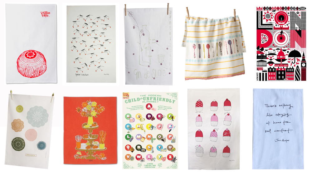 tea towel round up