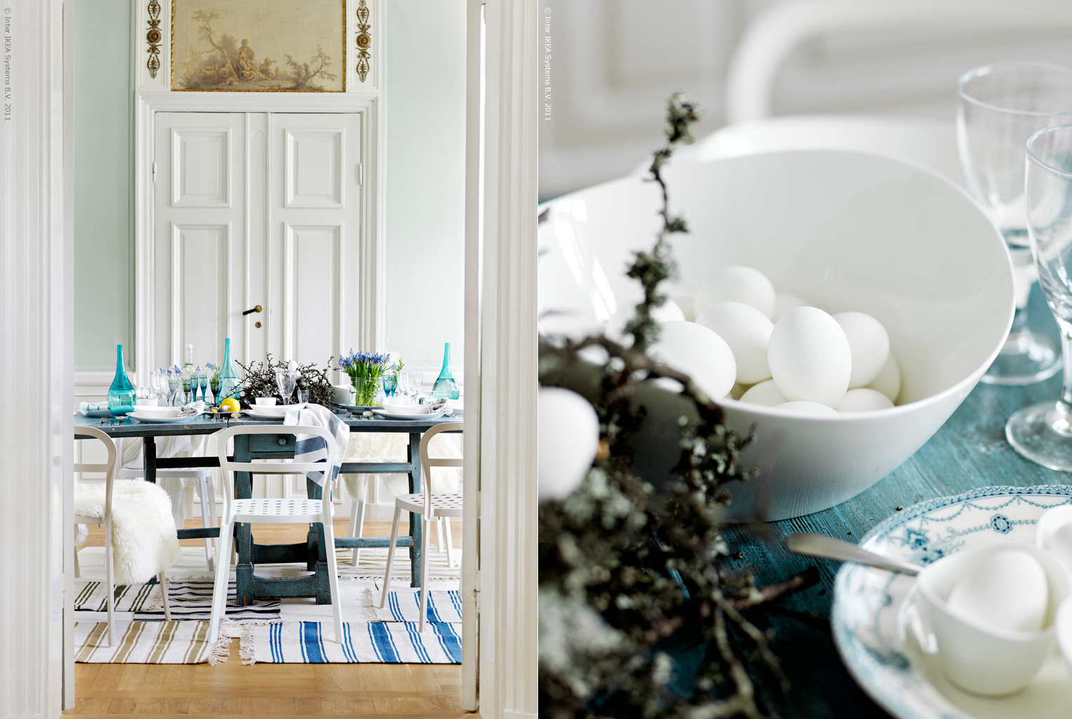 ikea easter table inspiration