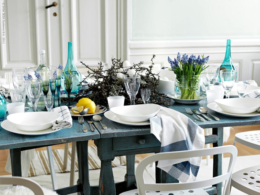 easter inspiration lobster and swan. Black Bedroom Furniture Sets. Home Design Ideas