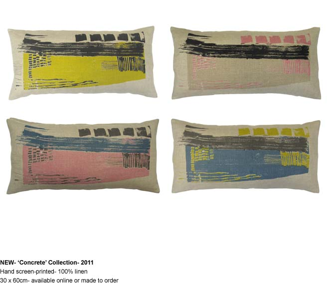 Hand Screen Printed Cushions Laura Slater