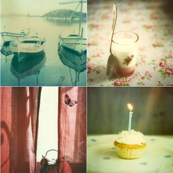 Polaroid greeting cards