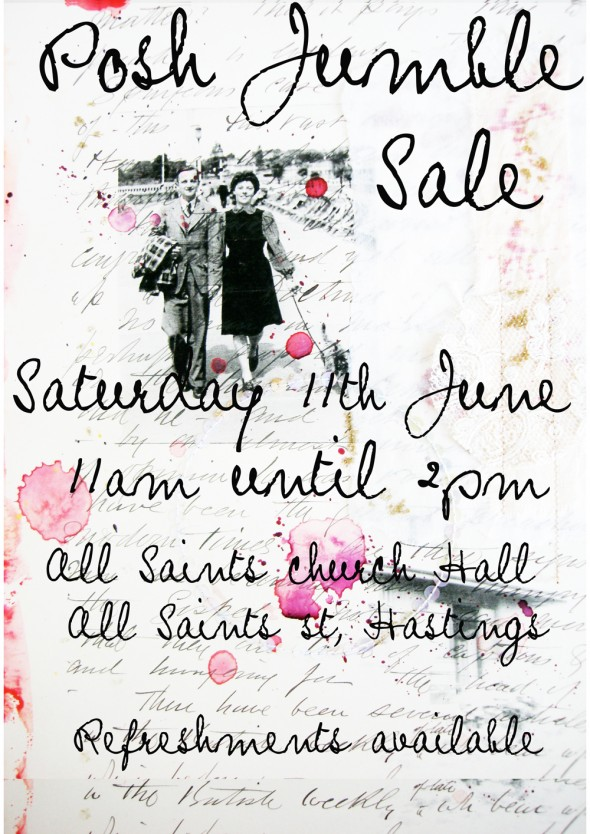 Posh Jumble sale - Lobster and Swan
