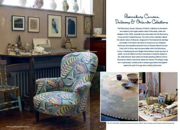 Sanderson Bloomsbury collection