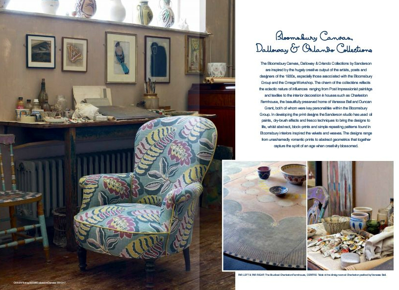 Sanderson Bloomsbury collection