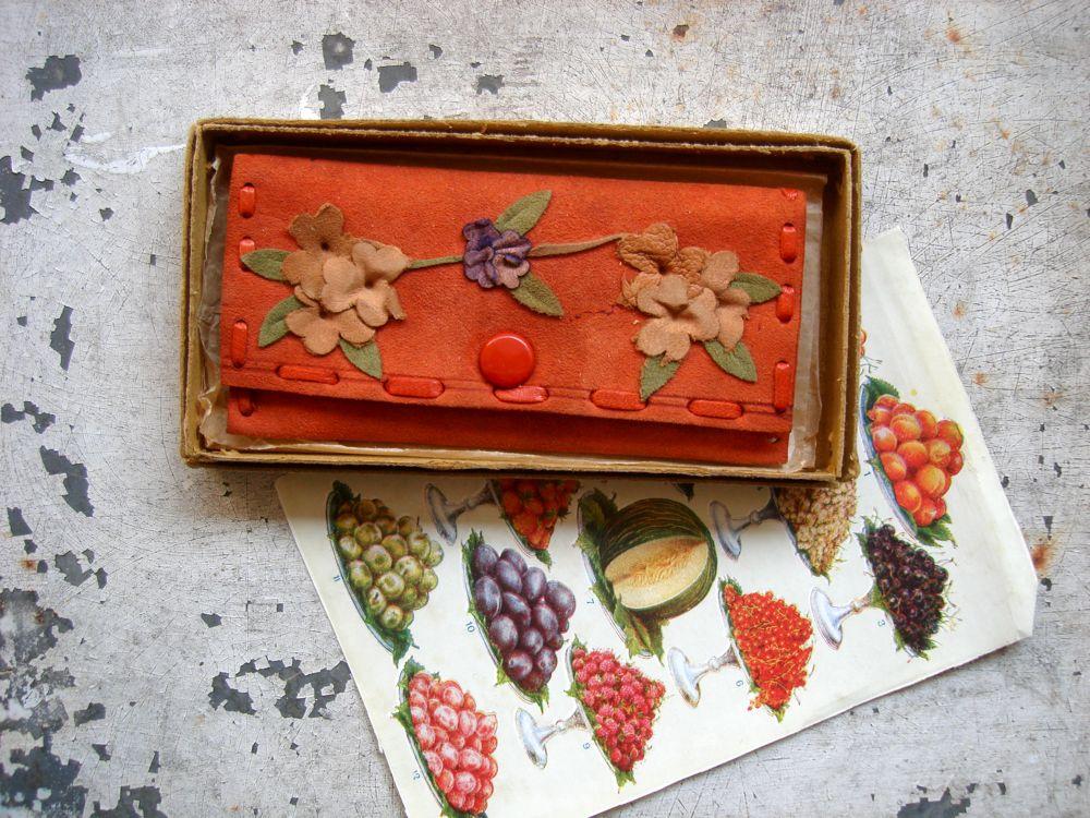 vintage needle case