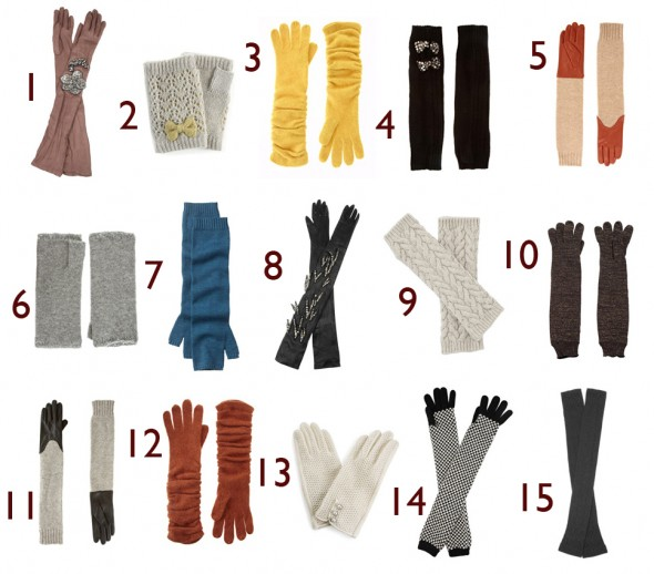 winter Glove collection 2011
