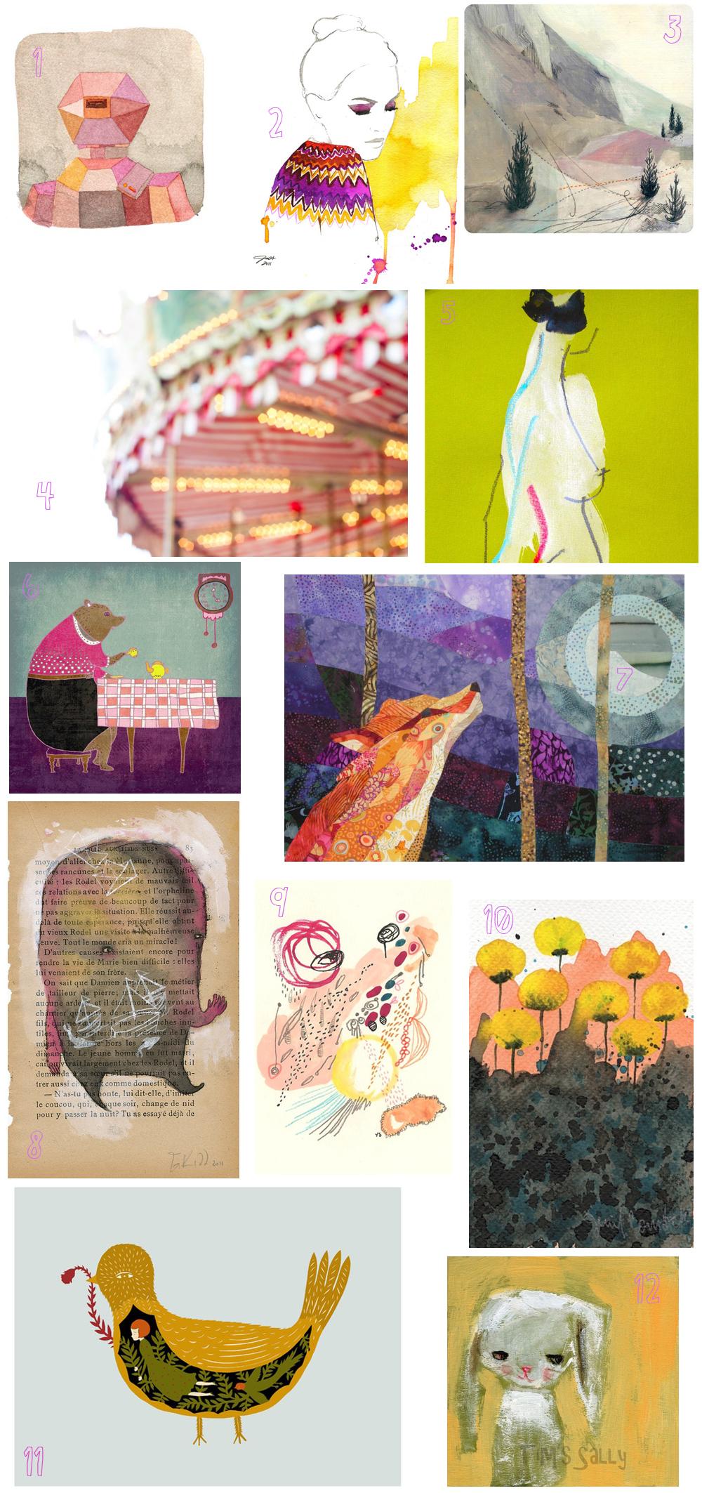 Tiniest art show december 2011