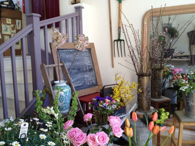 Pretty florist shop Bobo St Leonards on sea