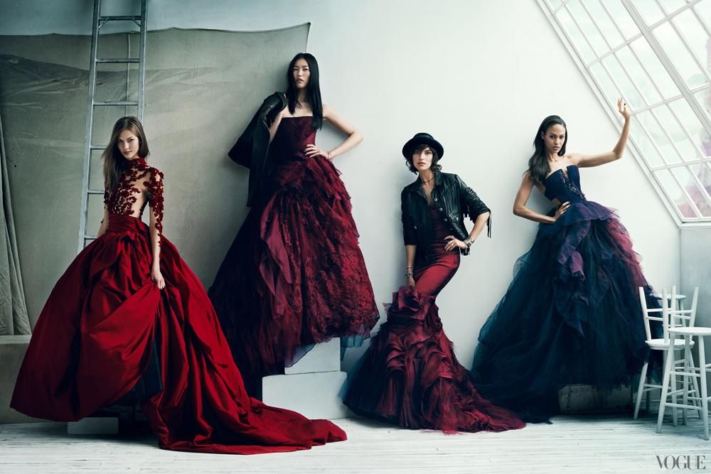 The Vogue 120: The Stylish Models of the Moment photographed by Norman Jean Roy