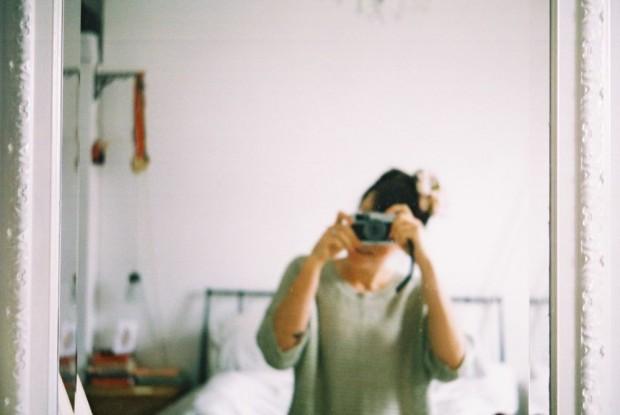 Vintage camera shot