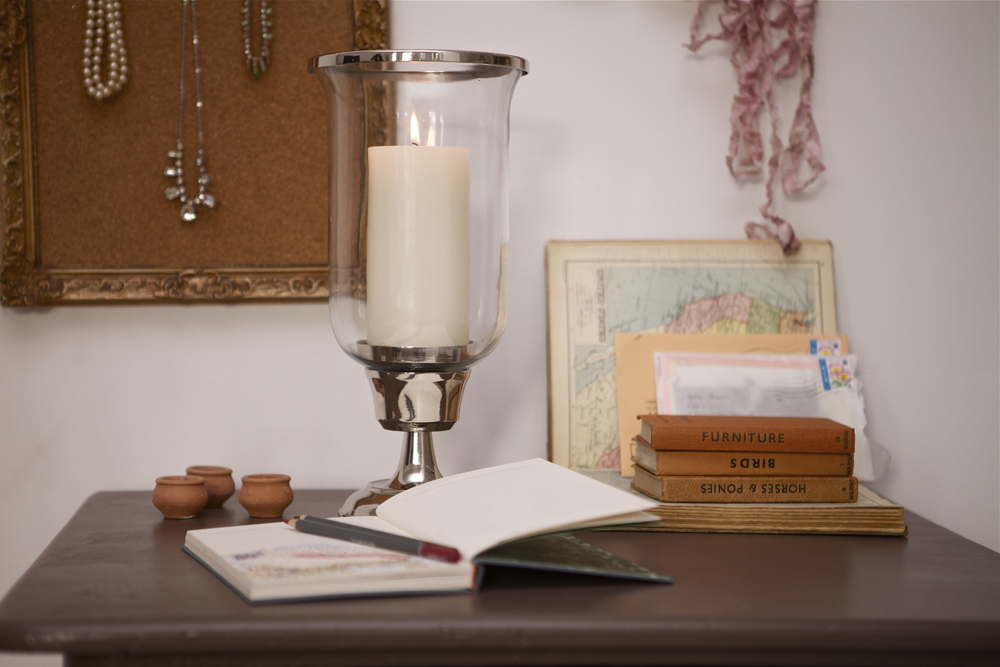 Laura Ashley Hurricane Lamp