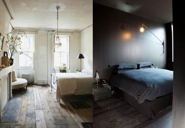 Bedroom dreaming pale and dark