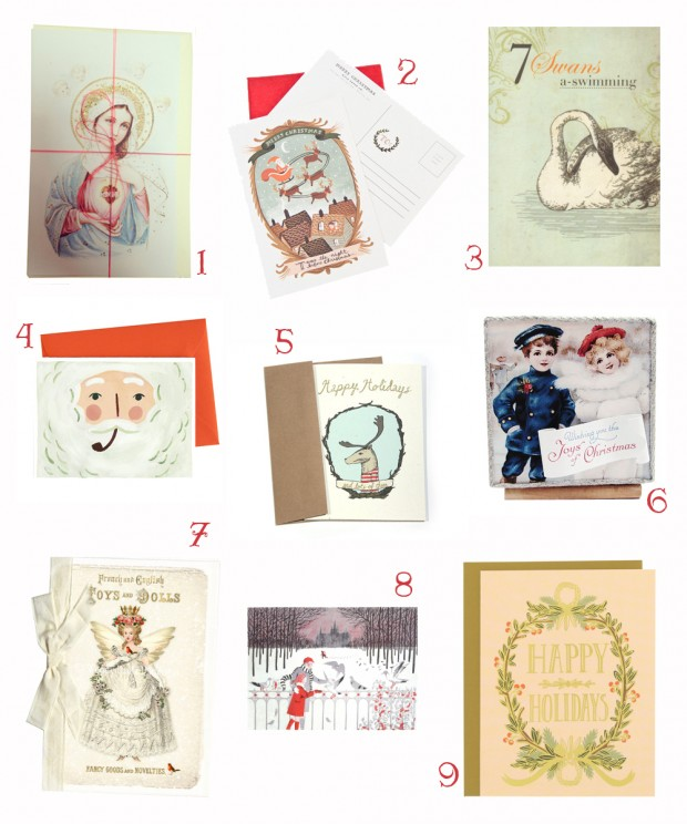 Christmas card round up