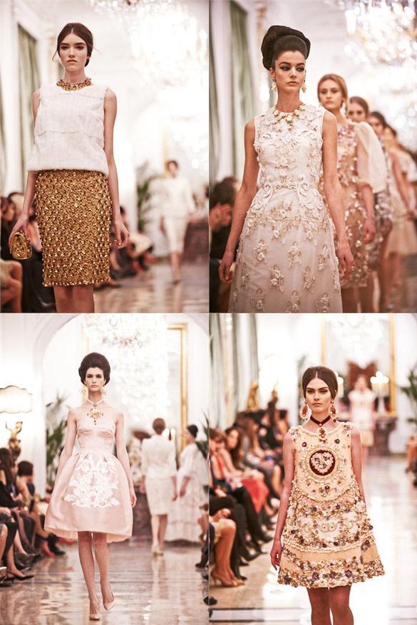 Dolce&Gabbana Alta Moda Spring Summer 2013