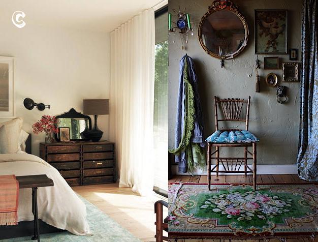 A versus b feminine and masculine interior decor lobster for Interior decoration vs interior design