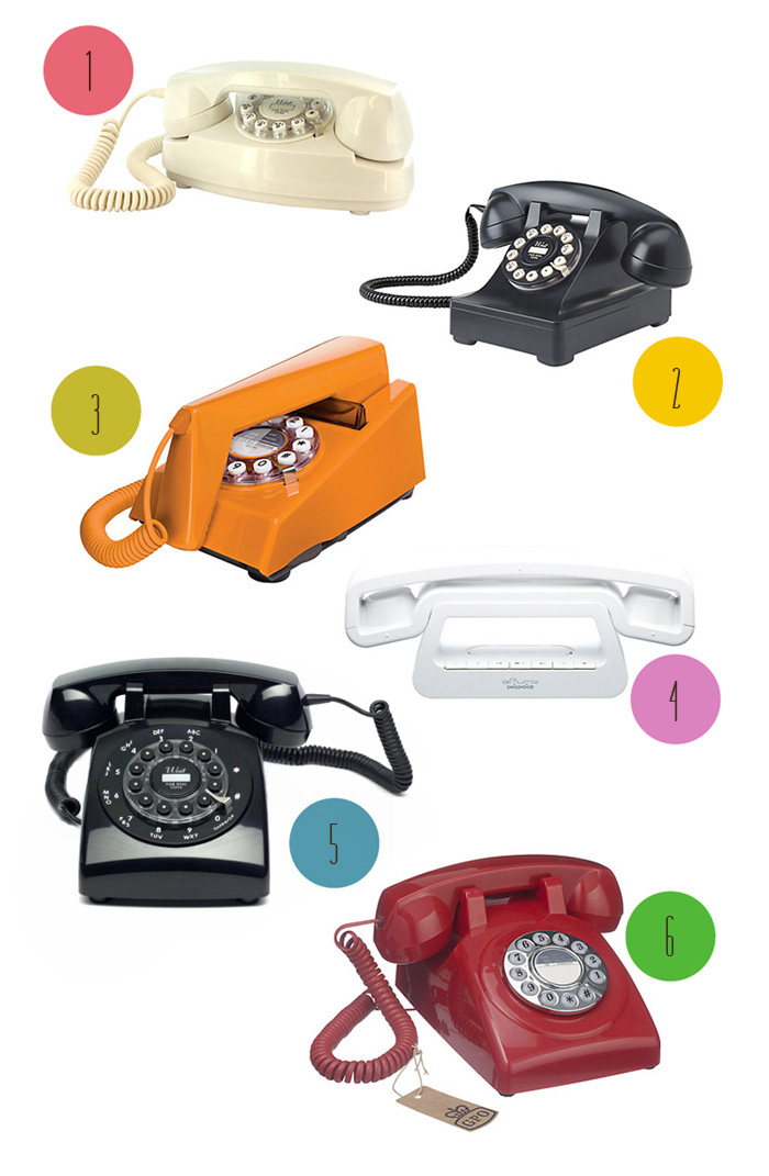 Home telephone design round up lobster and swan for Home telecom