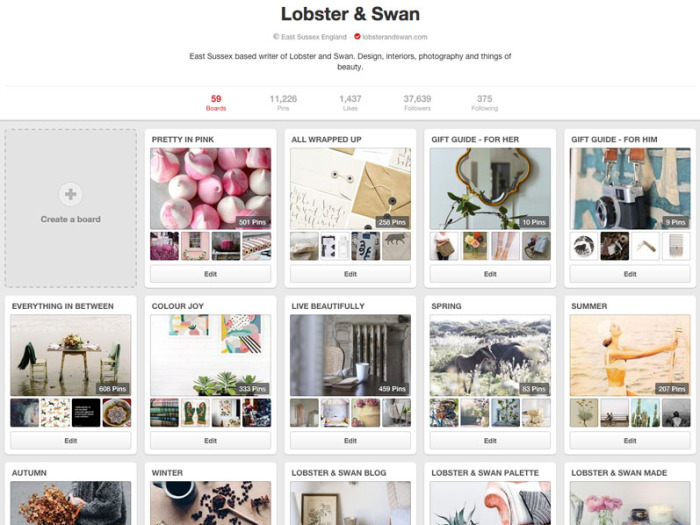 Pinterest UK Pinner