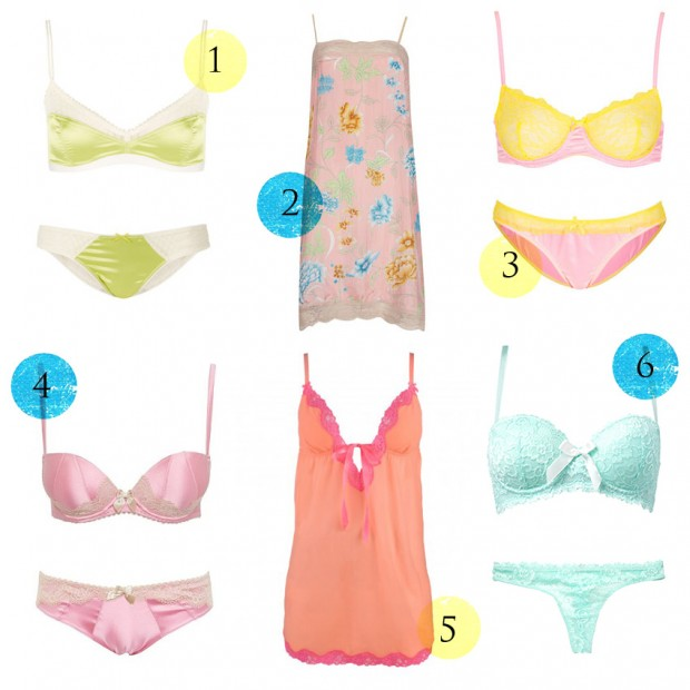 High Street lingerie round up