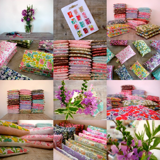 Liberty Fabric Lavender Bags