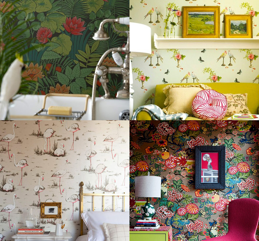 Just Dont Call It A Feature Wall Lobster And Swan