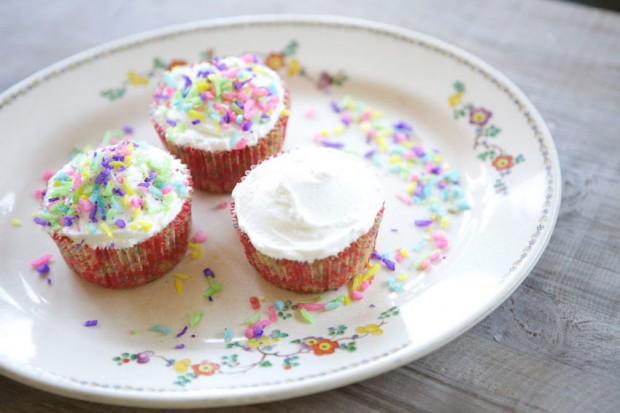 Coconut and Peach Cupcake Recipe