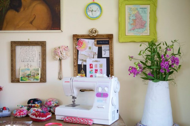 Home Office Desk Space