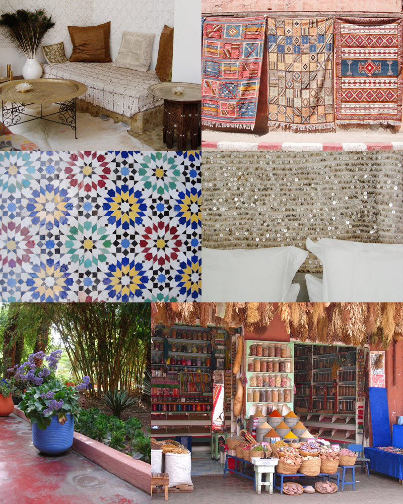 Mexican decor inspired by summer lobster and swan for Moroccan decorations for home