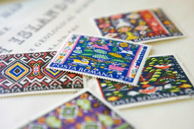 Romanian Postage Stamps