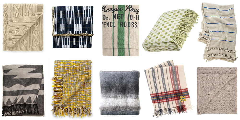 10 Of The Best Throws and blankets