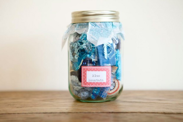Blue Mountain Craft Jar