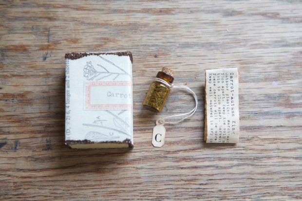 Carrot Seed Packaging