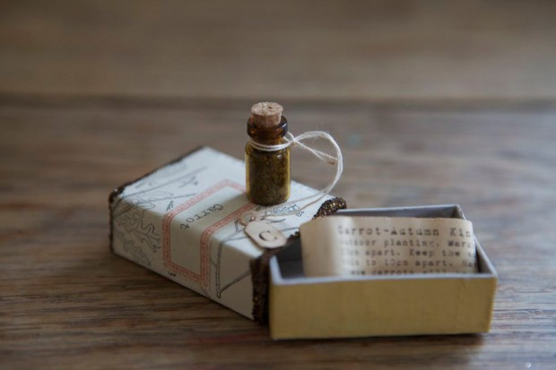 Hand Decorated Matchbox
