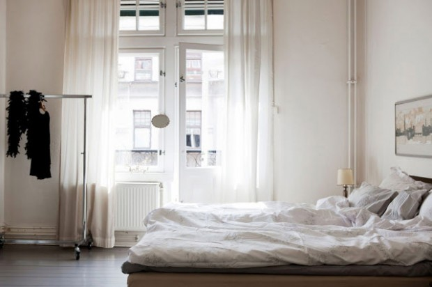 Bedroom inspiration via Bolaget