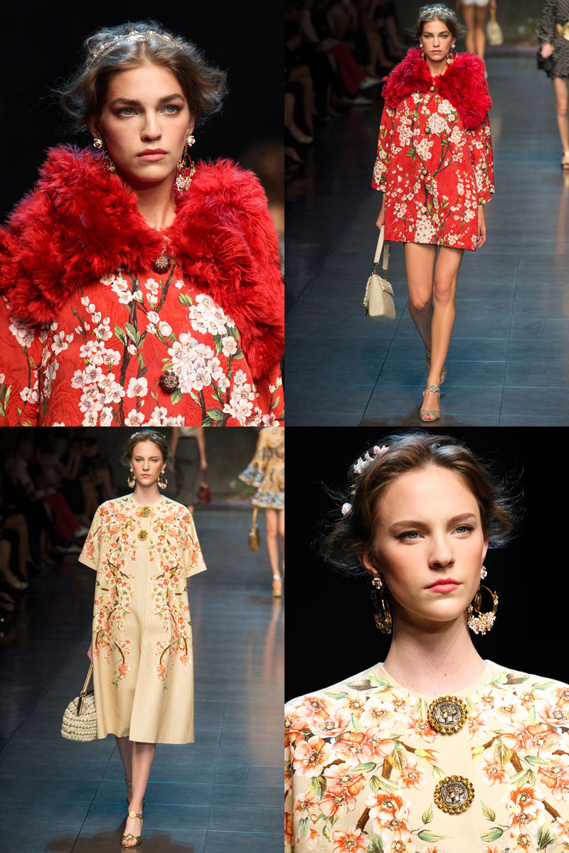 Dolce and Gabbana RTW SS2014