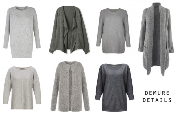 Detail grey jumpers