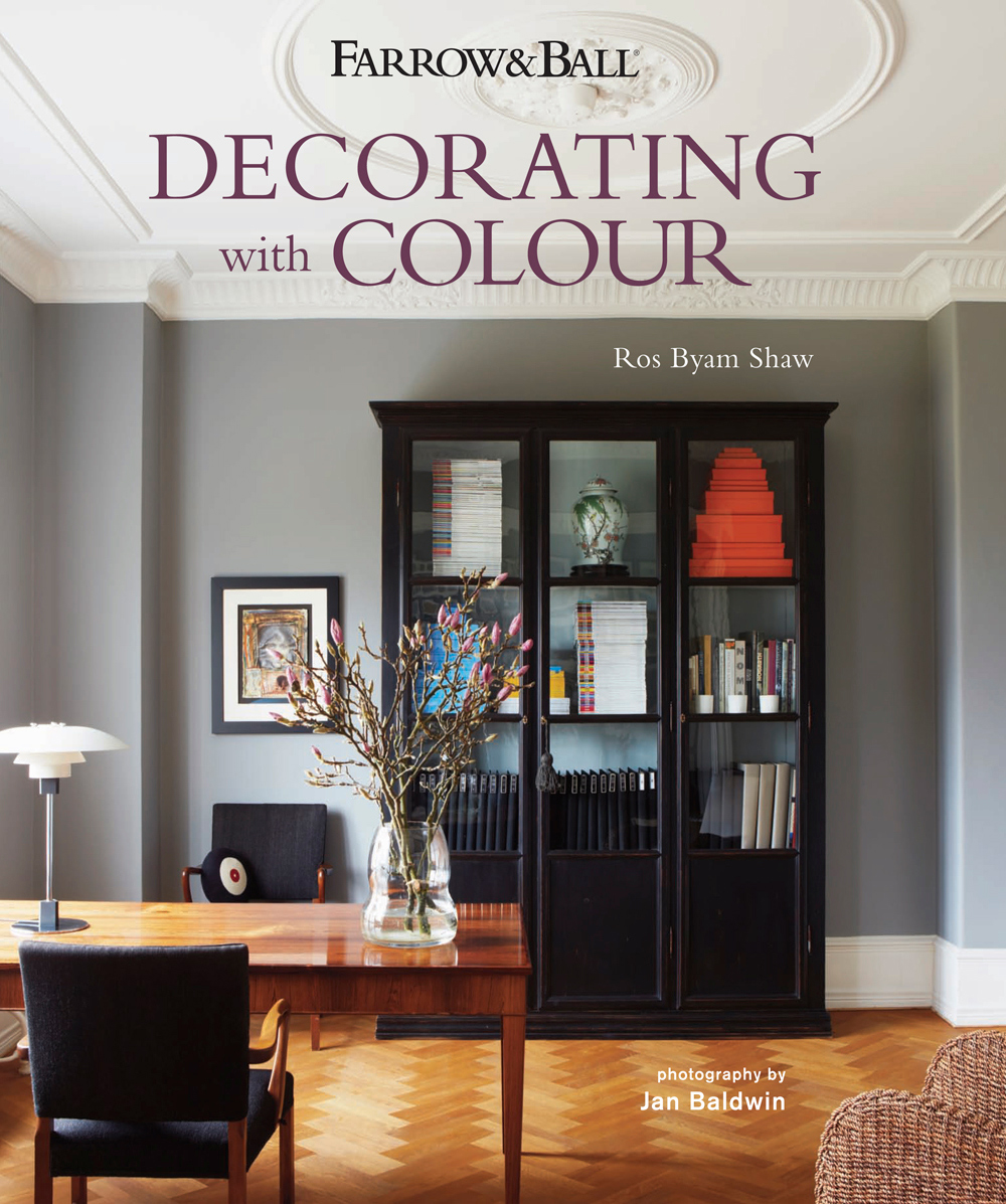 Farrow and ball book tour lobster and swan for Decorating with dark colours