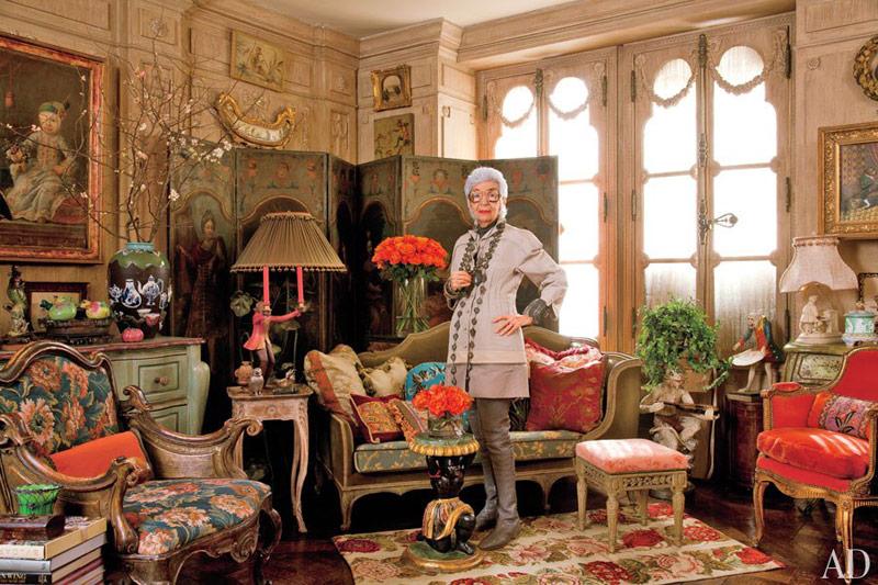 Iris Barrel Apfel fashion muse