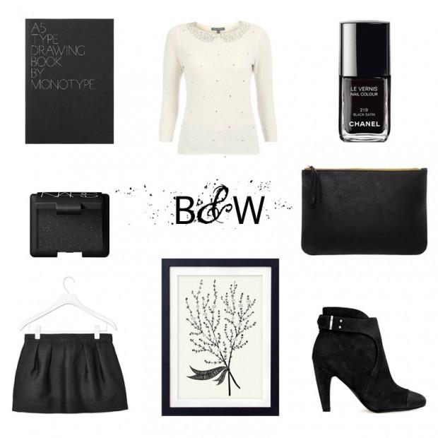 SPREE Black and white