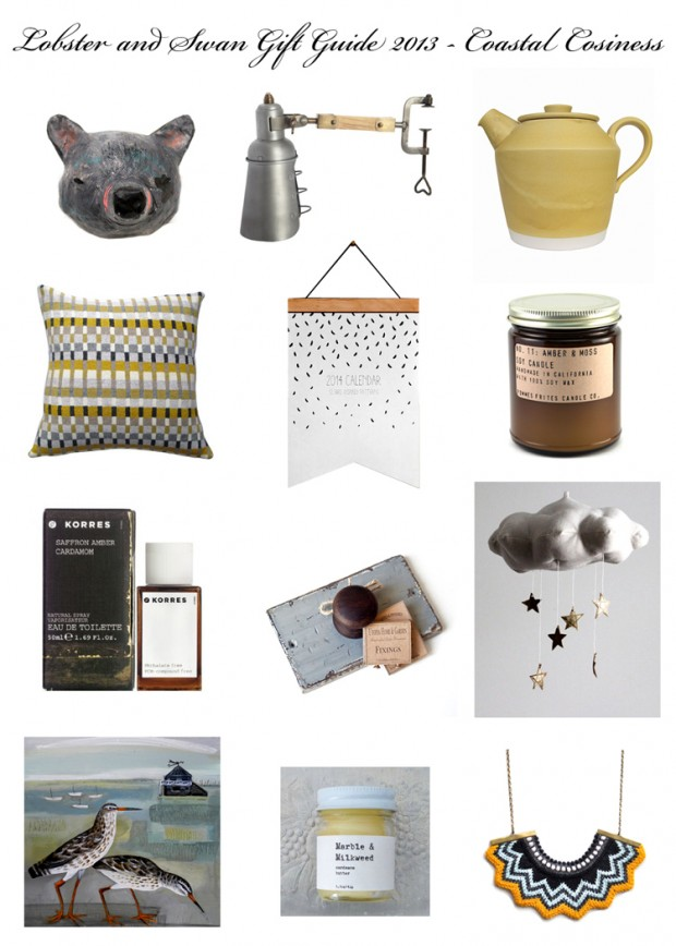 Gift Guide 2013 Coastal Cosiness