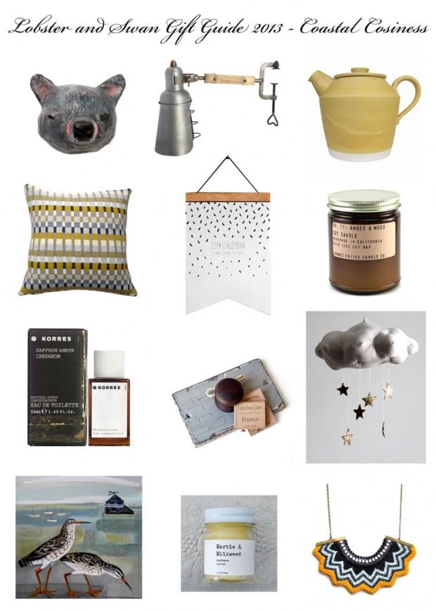 Gift Guide 2013 Coastal Cosiness