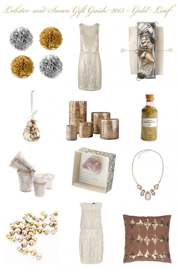Gift Guide Gold Leaf