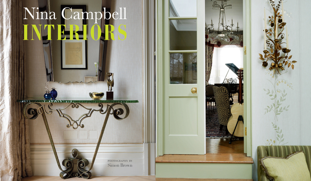 Nina Campbell Interiors Blog Book Tour Lobster And Swan