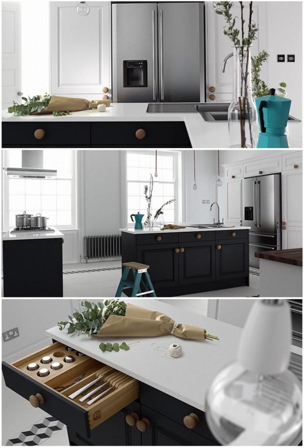 Wren Sculptured Kitchen