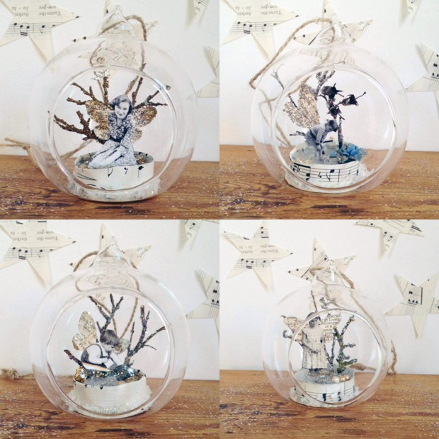 Vintage Glass Baubles All