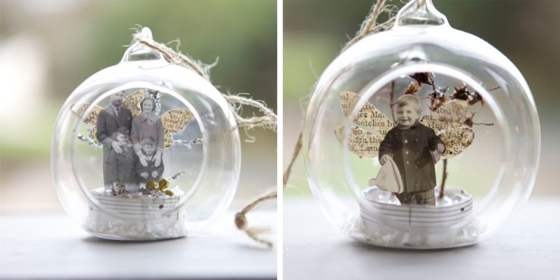 vintage tree baubles