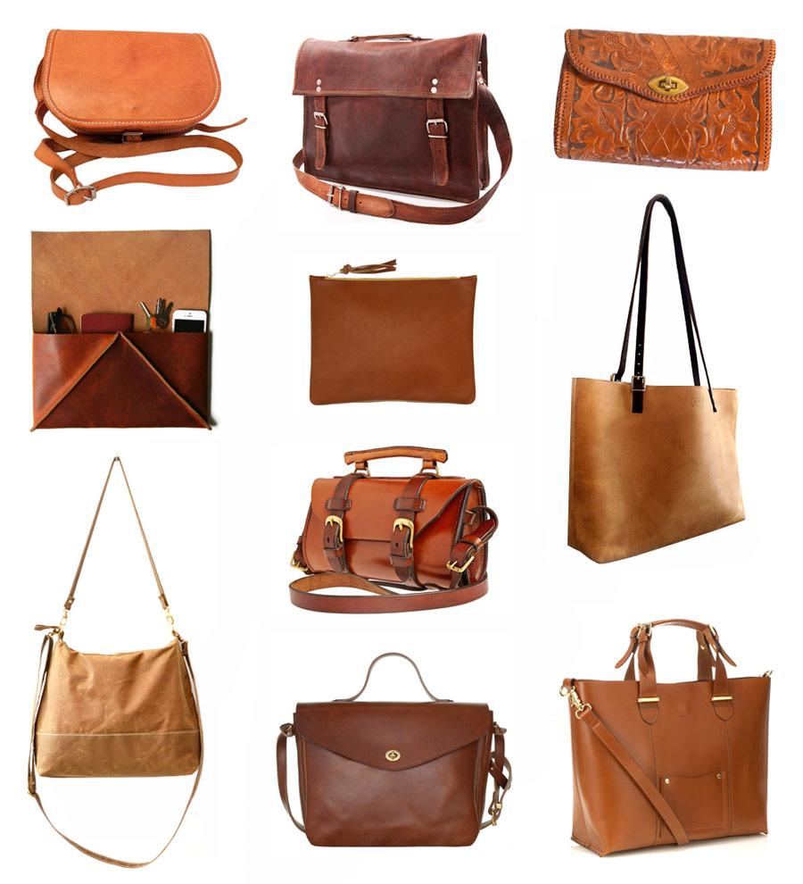 Wardrobe basics leather totes