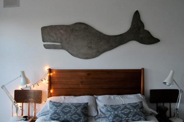 Giant Whale Art