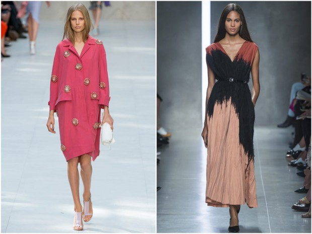 Burberry Prorsum and Bottega Veneta rtw ss2014