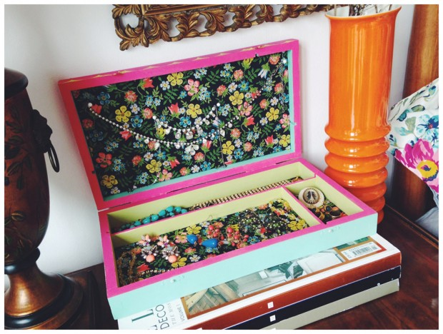 Painted Jewellery Box Project