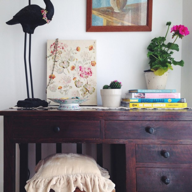 Dressing table makeover